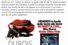 14 aprile 2017 Radio Olbia Web