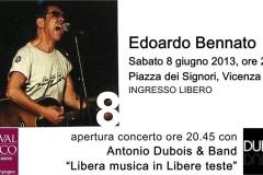 8 giugno 2013, live @Vicenza