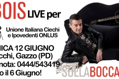 12 giugno 2016, live @Gazzo Padovano (PD)