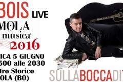 5 giugno 2016, live @Imola (BO)