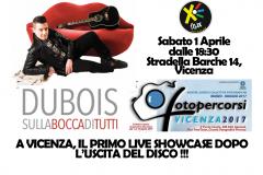 1 aprile 2017, live @Vicenza