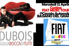 12 aprile 2017, casting FiatMusic Tour @Bassano del Grappa (VI)