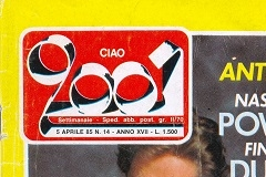 5 aprile 1985 CIAO 2001 - copertina