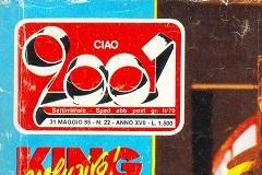 31 maggio 1985 CIAO 2001 - copertina