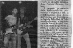 14 gennaio 2007 Guidonia Oggi
