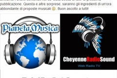 28 gennaio 2016 Cheyenne Video Radio Sound
