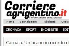23 agosto 2016 Corriere Agrigentino.it